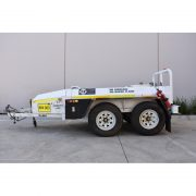 1200L Fuel Tank Trailer Mounted Bunded