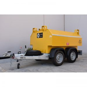 Bunded Fuel Tank Trailer for hire rental sale