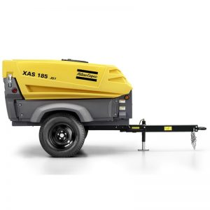 Atlas Copco XAS185 Compressor - Towable - Trailer Mounted - Hire