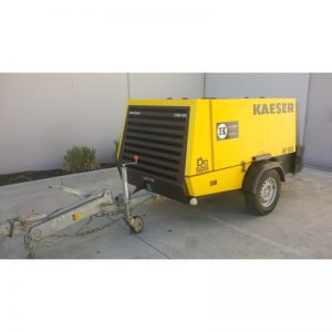 Kaeser M100 Compressor - Trailer Mounted 375CFM