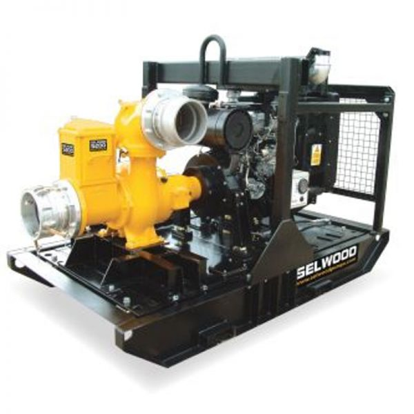 "8"" Dewatering Pump - Selwood"
