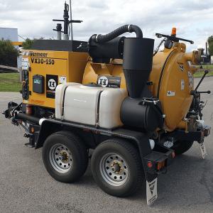Vacuum Excavator – 946L – Trailer Mounted